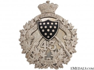 The Duke of Cornwall's Own Belt Plate 1907