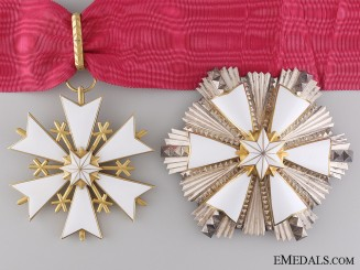 An Estonian Order of the White Star by Roman Tavast of Tallinn