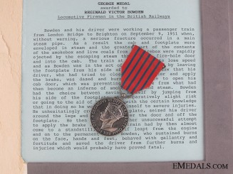 The George Medal for Railway Heroism