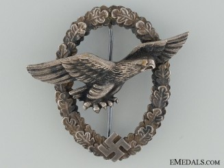 The Glider Pilot Badge; Rare Large Eagle Version