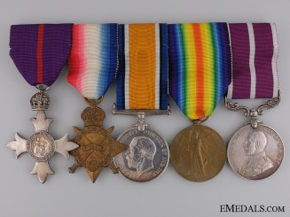 The MBE & MSM to Captain Sydney Webb; 2nd Canadian Division