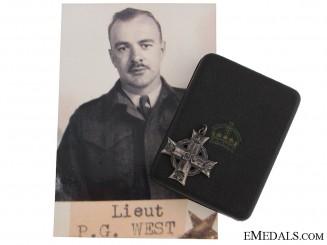 The Memorial Cross of Lieutenant P.G.West