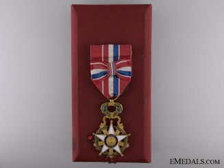 The Merit Order of Paraguay; Officer's Badge