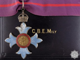 A Most Excellent Order of the British Empire (C.B.E.); Commander
