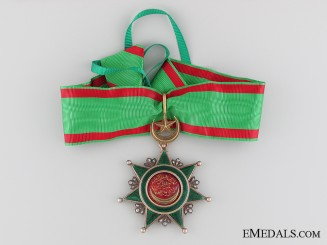 The Order of Osmania (Osmanli); 3rd Class
