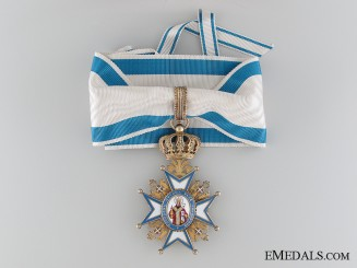The Order of St.Sava; Commander by Scheid of Vienna