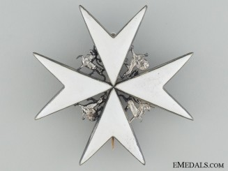 The Order of St. John; Breast Star 1912-1926