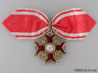 An Order of St. Stanislaus 2nd Class; Civil by Albert Keibel