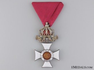 Bulgaria, Kingdom. An Order of St. Alexander; 5th Class Knight, c.1940