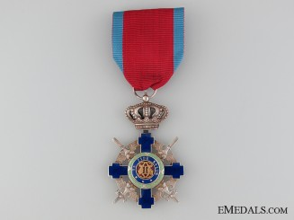 The Order of the Star of Romania; Knight with Crossed Swords