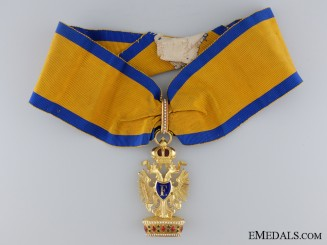 The Order of the Iron Crown in Gold; Second Class by Rothe, Wien
