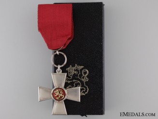 The Order of the Lion of Finland; Knight 2nd Class