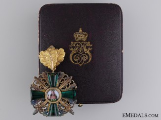 The Order of the Zähringen Lion with Gold Oakleaves