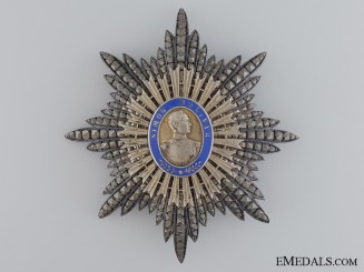 Venezuela. An Order of the Liberator, Grand Cordon, by Gathmann, c. 1910