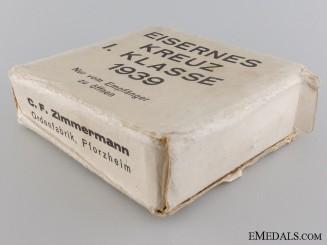 The Outer Cartonage for C.F. Zimmermann EK 1