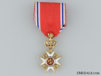 The Royal Norwegian Order of St. Olav Miniature; Type II