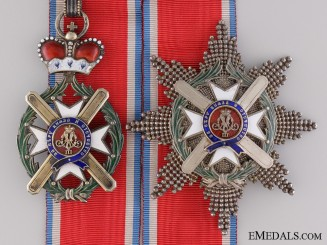 A Serbian Order of Takovo; Grand Officer Set by Anton Furst