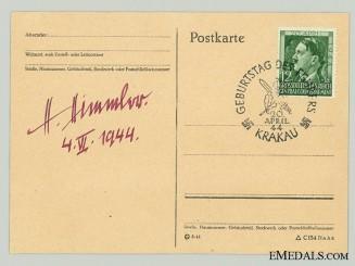 The Signature of Heinrich Himmler