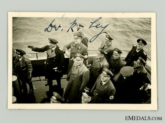 The Signature of RAD Leader Dr. R. Ley