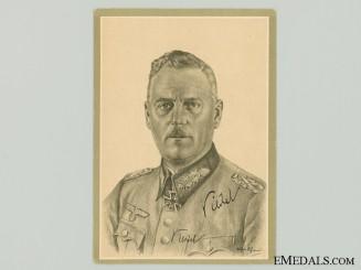 The Signature of Field Marshal Wilhelm Keitel