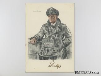 The Signature of Admiral Doenitz