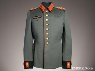 The Uniform of Wehrmacht Generalmajor Josef Gerstmann