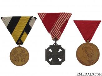 Three Austrian Medals