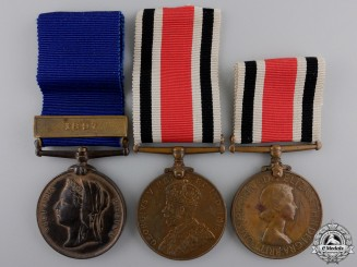 Three British Constabulary Medals