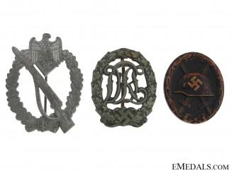 Three German Badges