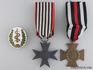 Three German Imperial Awards & Badges