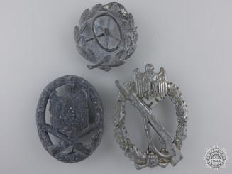 Three German Second War Badges