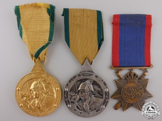 Three Iraqi Medals & Awards