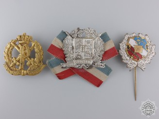 Three Oldenburg Badges