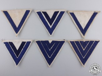 Three Pairs of Second War Kreigsmarine Rank Chevrons