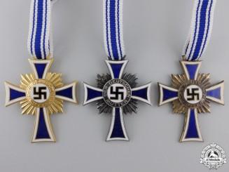 Three Second War German Mother's Crossess