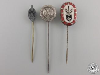 Three Second War Period German Stick Pins