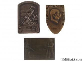 Three WWI Badges