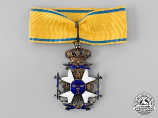 Sweden, Kingdom. An Order of the Sword, II Class Commander, c.1920