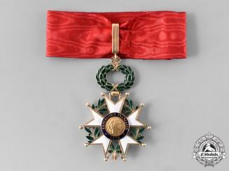 France, III Republic. An Order of The Legion of Honour, III Class Commander, by Arthus Bertrand, c. 1930
