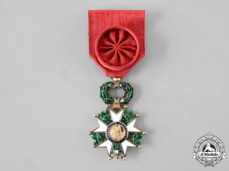 France, III Republic. An Order of The Legion of Honour, IV Class Officer, c. 1918