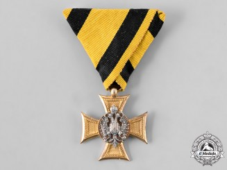Austria, Imperial. A Military Long Service Decoration for 25 Years, III Class for Officers, c. 1915