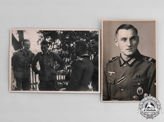 Germany, Wehrmacht. A Pair of Wehrmacht Photographs