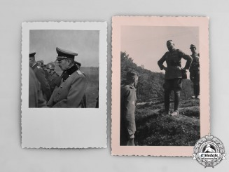 Germany, Wehrmacht. A Pair of Photographs of Wehrmacht Generals