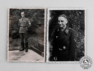 Germany, Third Reich. A Pair of Photographs