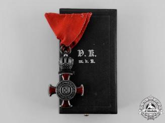 Austria, Empire. A Merit Cross 1849, IV Class, by Wilm. Kunz, c.1916