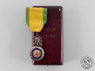 France, III Republic. A Military Medal, Type III with Uniface Trophy-of-Arms, c.1918