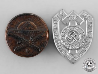Germany, HJ. A Pair of Badges