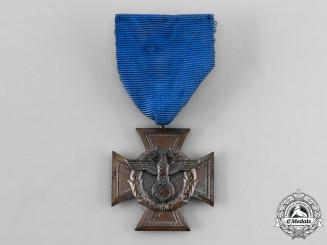 Germany, Third Reich. A Border Protection (Zollgrenzschutz) Long Service Award