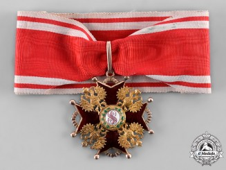 Russia, Imperial. An Order of Saint Stanislaus in Gold, II Class Commander, c.1910