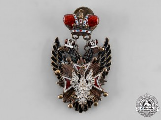 Russia, Imperial. An Order of the White Eagle, Émigré Display Example, c. 1920